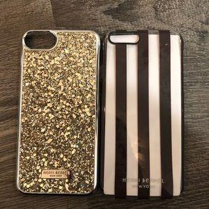 Henri Bendel bundle of 2 iPhone 6/6s cases NWT